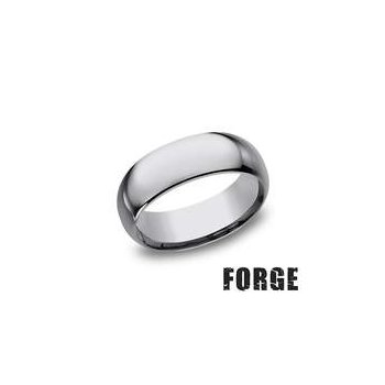 8MM High Polish Tungsten Band