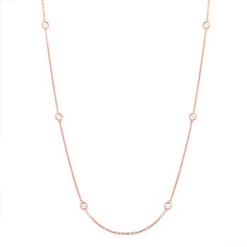 "Milestone Diamonds by the Yard 18"" Necklace"