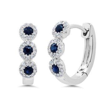 Center of My World Sapphire Earrings