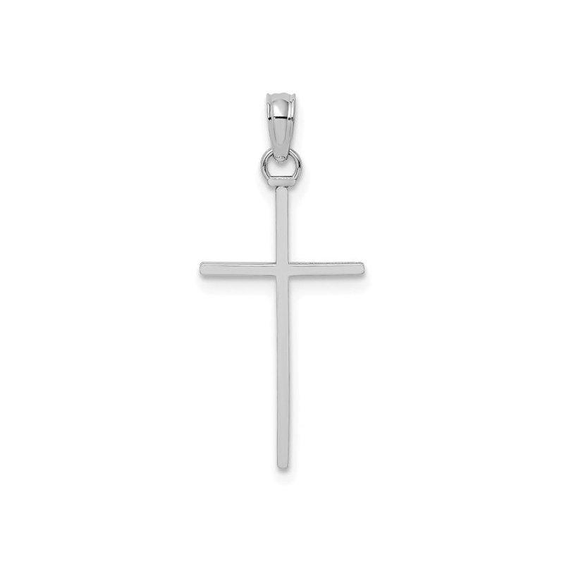 Lasker Gold Fashion Polished Stick Cross Pendant