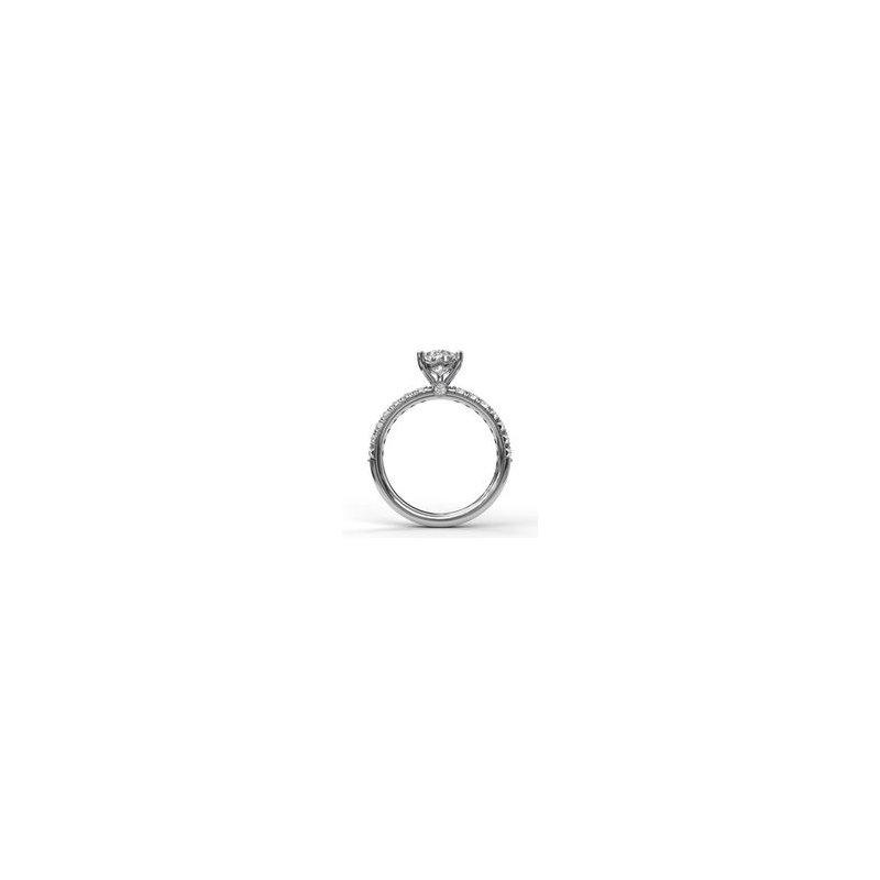 Fana Pear-Shape Diamond Ring Mounting