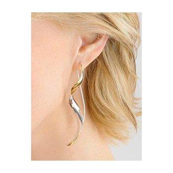 Large Ribbon Earrings