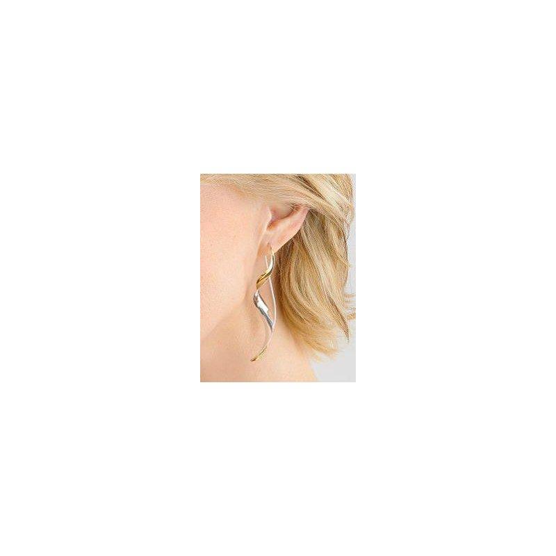 Nancy Linkin Large Ribbon Earrings