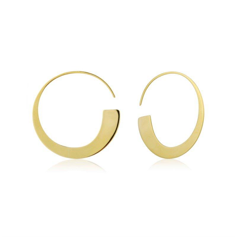Ania Haie Geometry Class Hoop Earrings