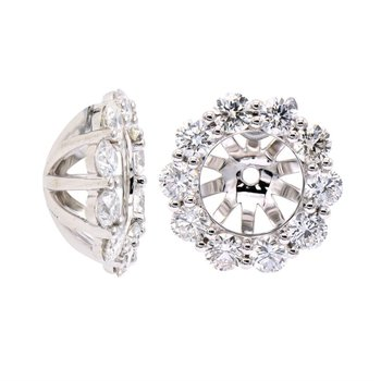 Diamond Earring Jackets for 1-1.50CT Studs