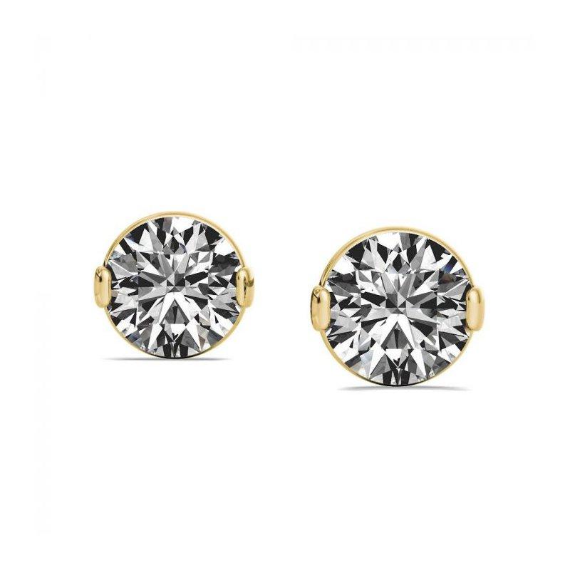 Lasker Diamond Fashion One & Only Stud Earrings