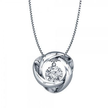 Diamond Time & Eternity Pendant