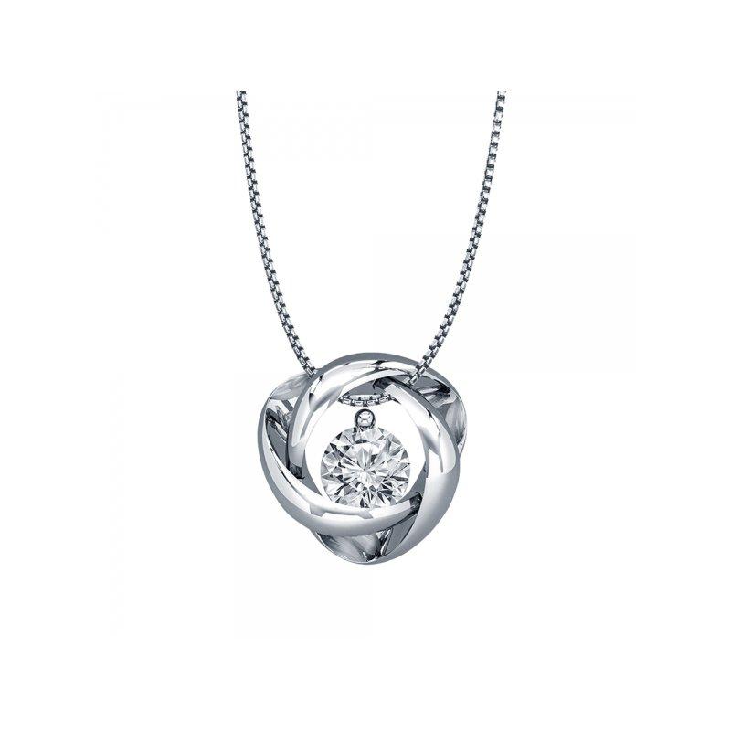 Lasker Diamond Fashion Diamond Time & Eternity Pendant