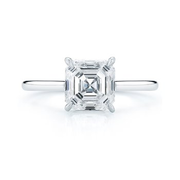 .93ct Asscher-Cut Diamond Solitaire
