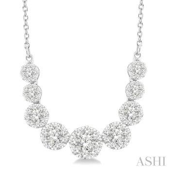 Lovebright Diamond Necklace - 1cttw