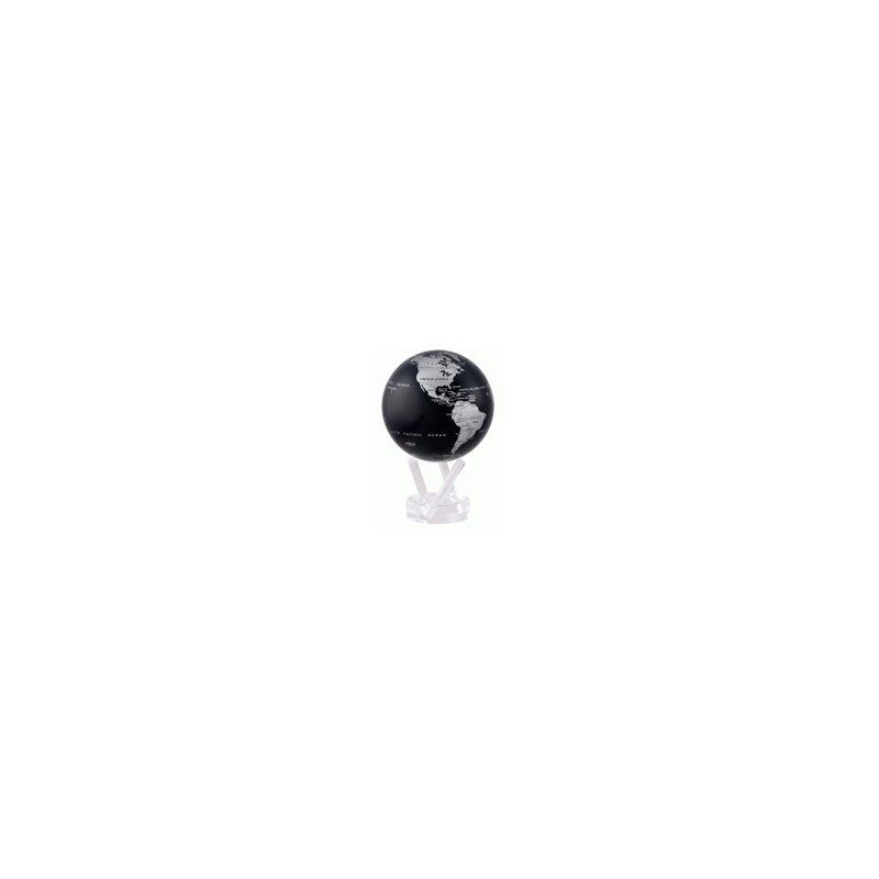 Mova Globes Black and Silver Globe