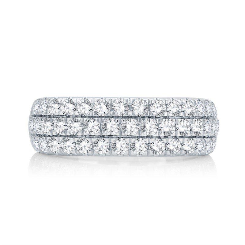 Lasker Bridal Amour Ring - 3cttw
