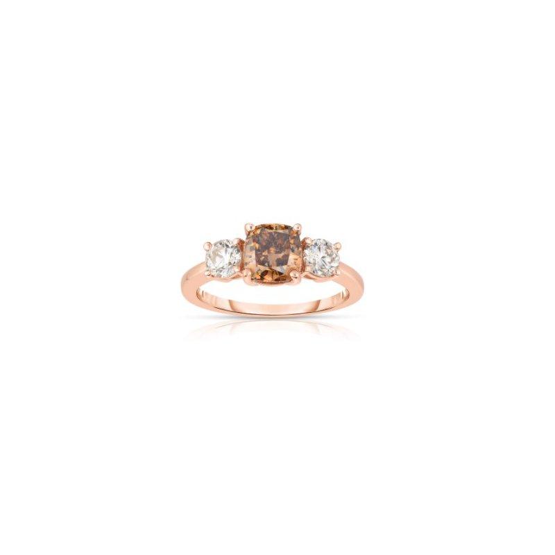 Lasker Bridal Past - Present - Future Cognac Ring