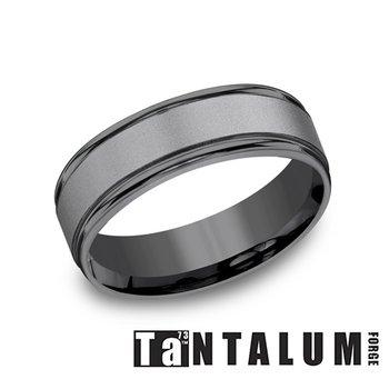 Dark Tantalum 7MM Band