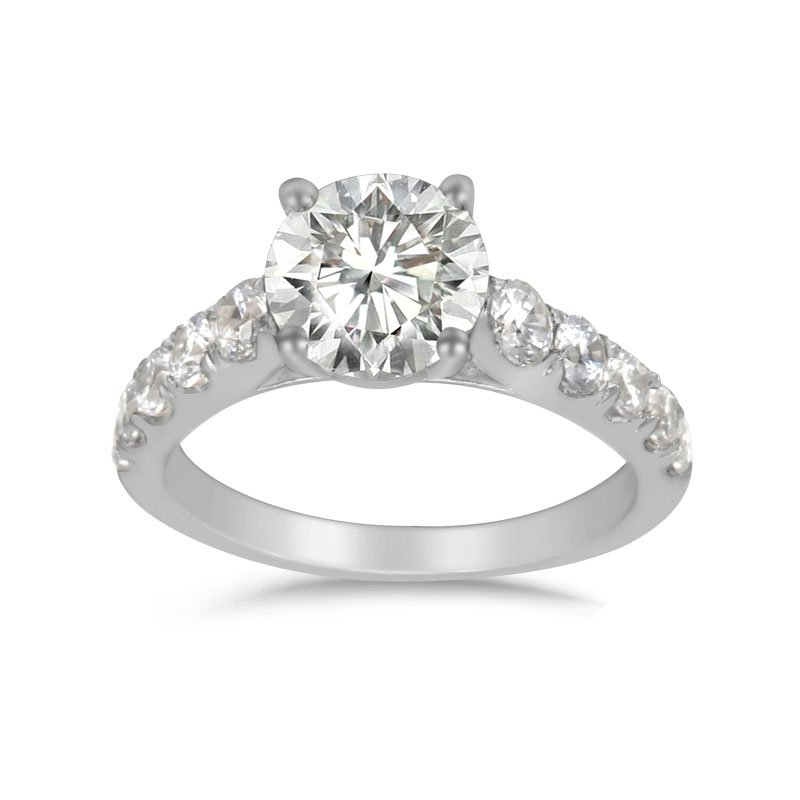 Martin Flyer Classic Prong Diamond Engagement Ring Mounting