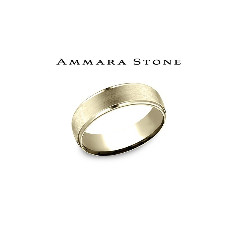 Lasker Men's Ammara Stone - 14kt Yellow Gold
