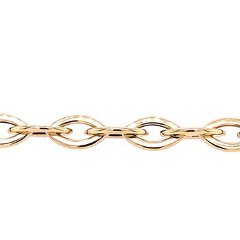 Yellow Gold Naivete Link Bracelet