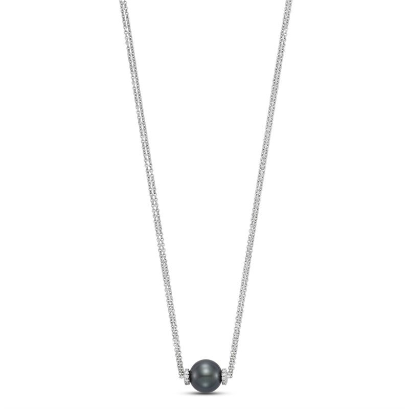 Lasker Pearl Fashion Black Tahitian Pearl Pendant