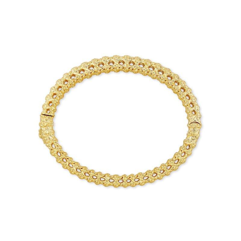 Kendra Scott Natalie Bangle Bracelet In Silver
