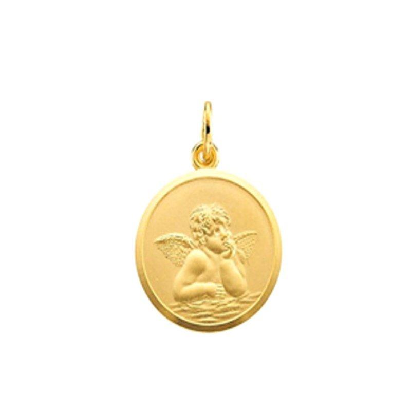 Lasker Gold Fashion 10MM Angel Medal