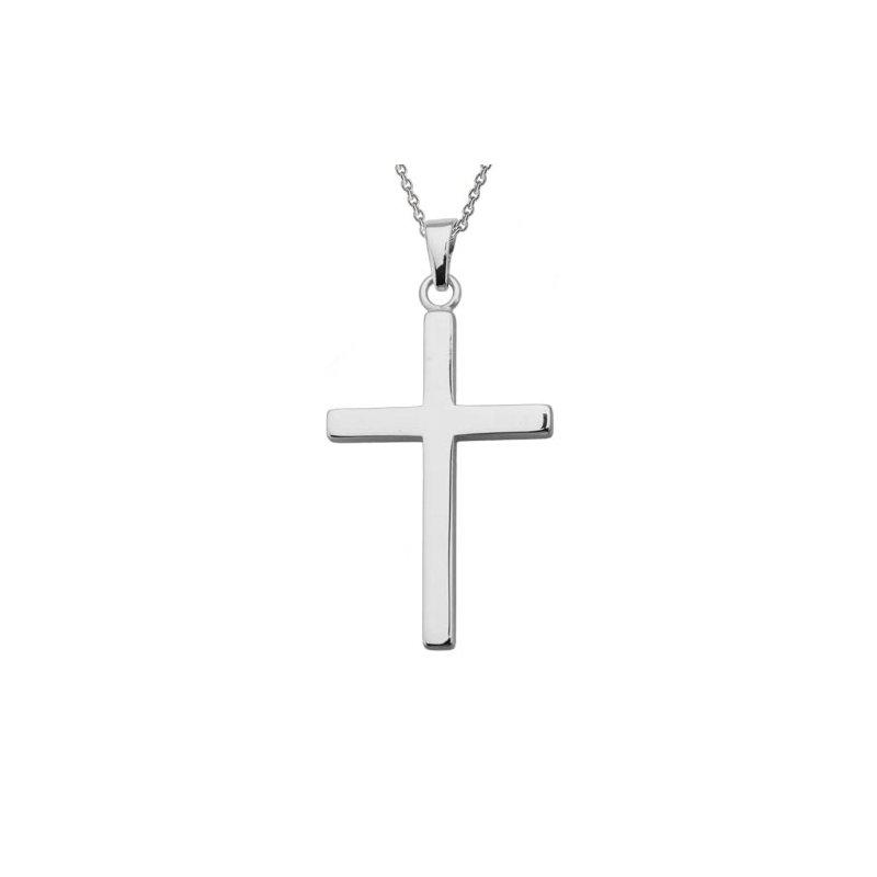 Lasker Gold Fashion Polished Cross Pendant