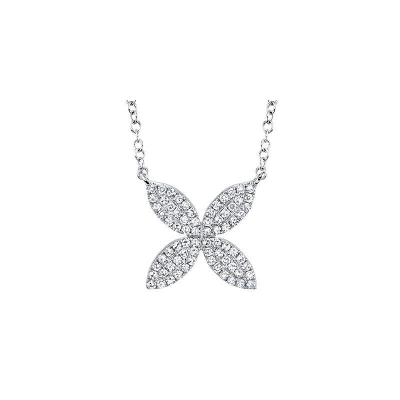 Lasker Diamond Fashion Petal Power Diamond Necklace