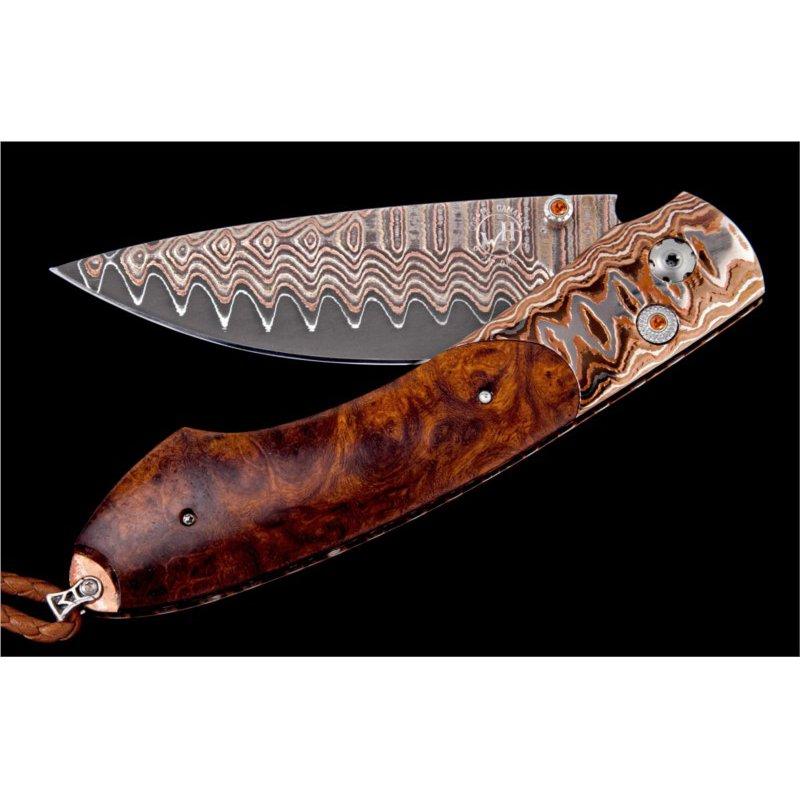 William Henry Rustic Pocket Knife