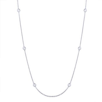 Diamonds-By-The-Yard Necklace