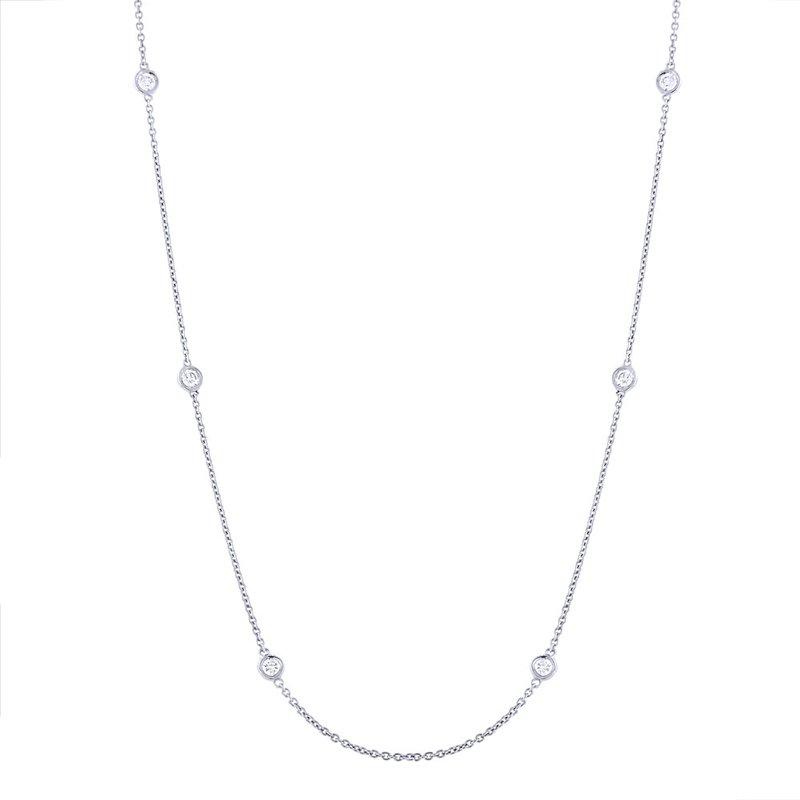 Lasker Diamond Fashion Diamonds-By-The-Yard Necklace
