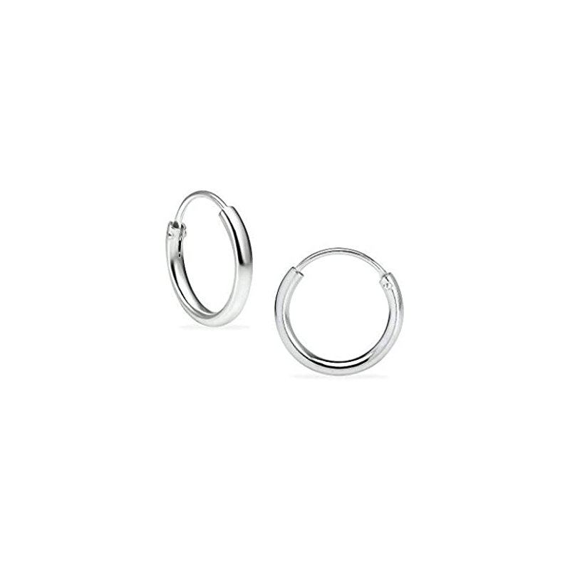 Lasker Signature Rounded Polished Huggie Earrings