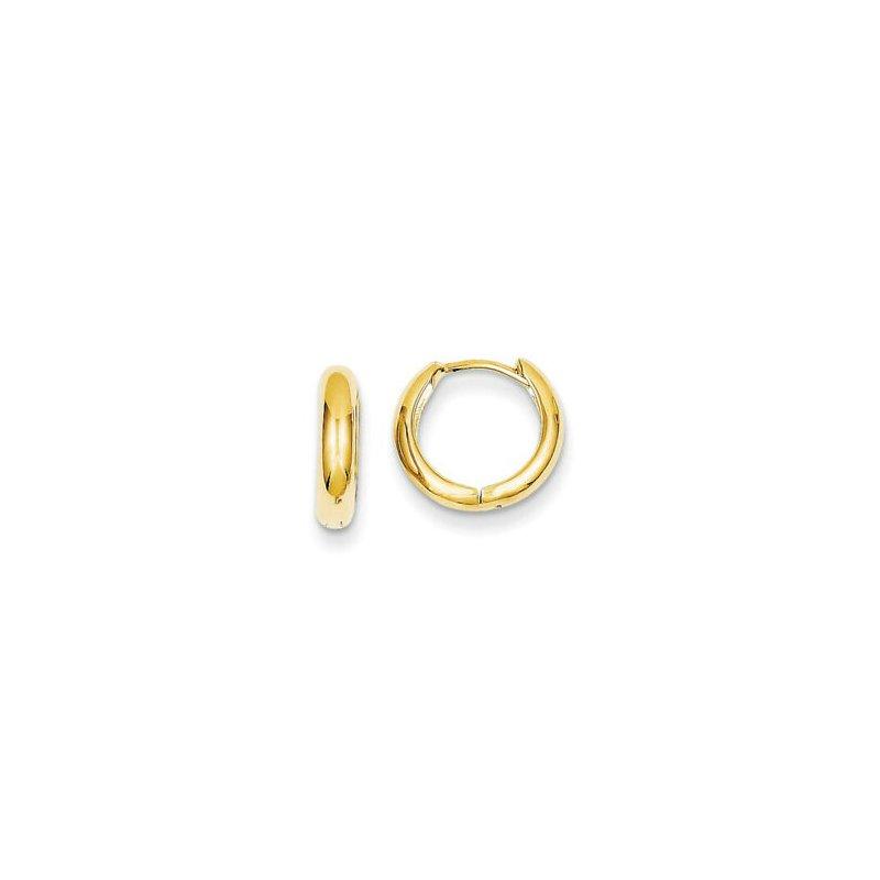 Lasker Gold Fashion Mini Huggie Earrings
