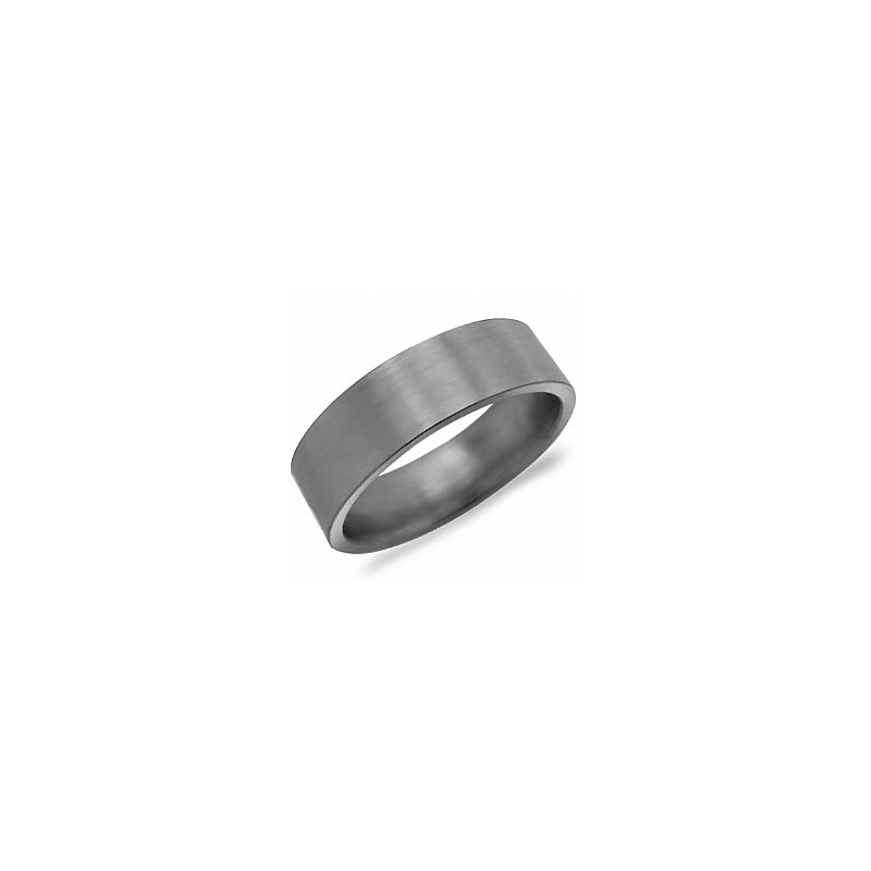 CrownRing Plain Titanium Band