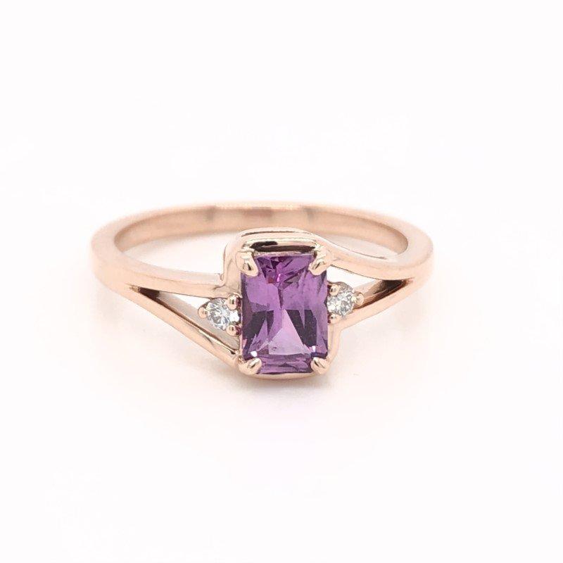 Lasker Gemstone Pink Sapphire Ring