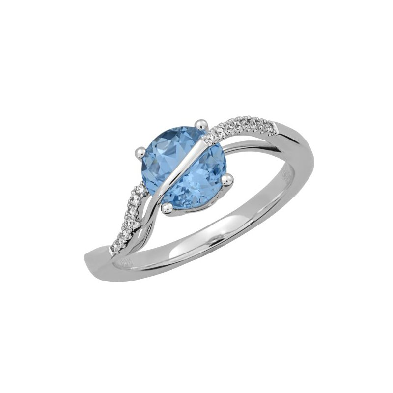 Lasker Gemstone Chatham Alexandrite Ring
