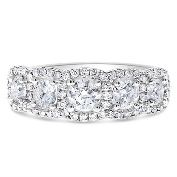 Cushion Halo Venus Diamond Ring - 1.50TW