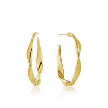 Twister Hoop Earrings