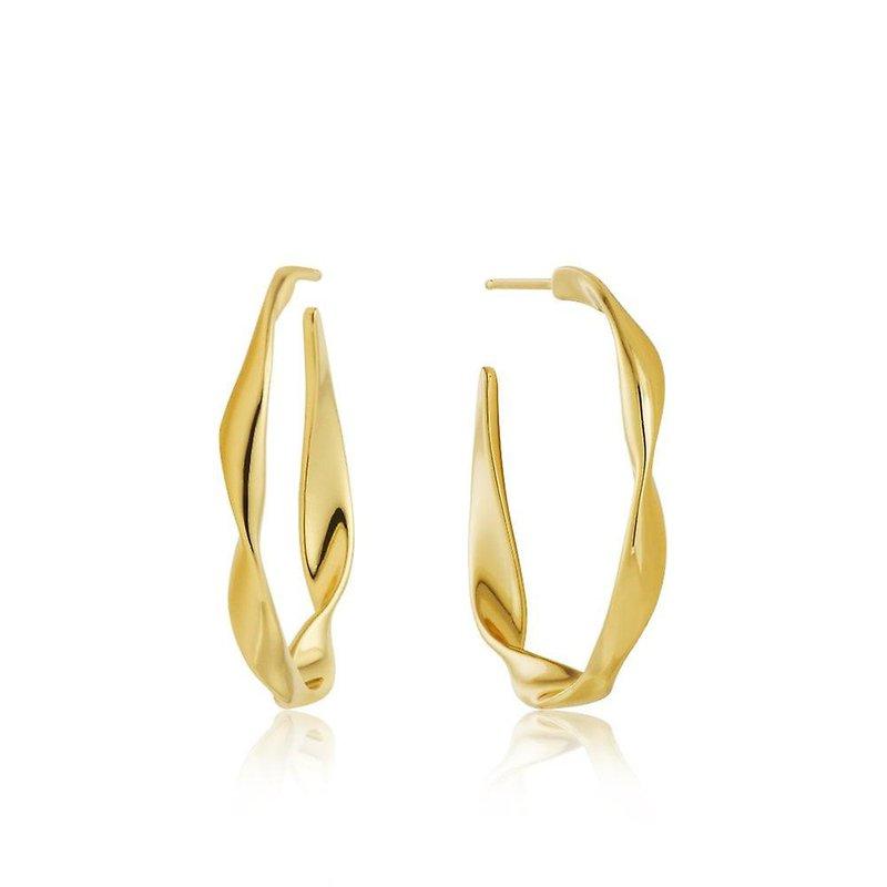 Ania Haie Twister Hoop Earrings