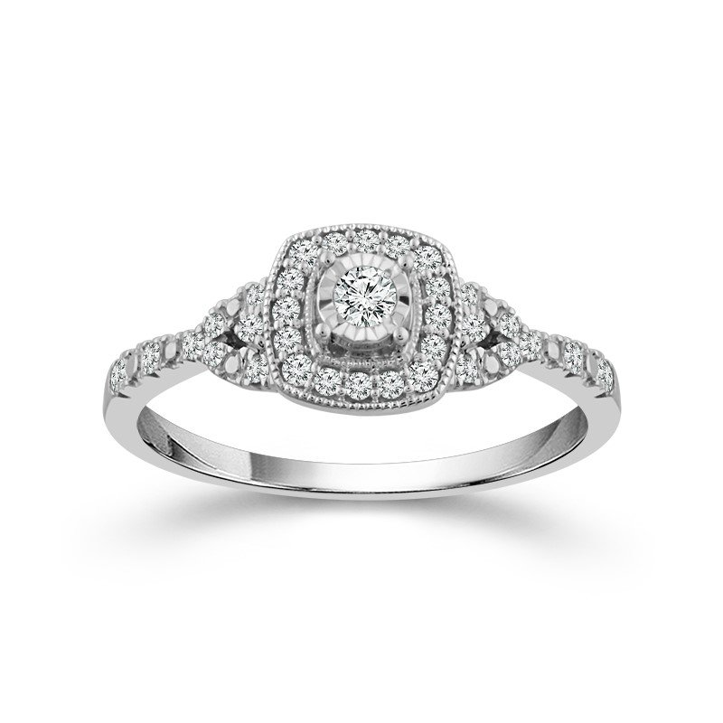 Lasker Diamond Fashion Center of My World Promise Ring