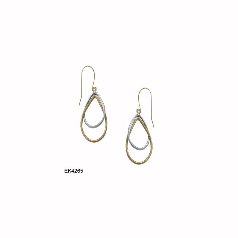 Lasker Gold Fashion Teardrop Dangle Earrings