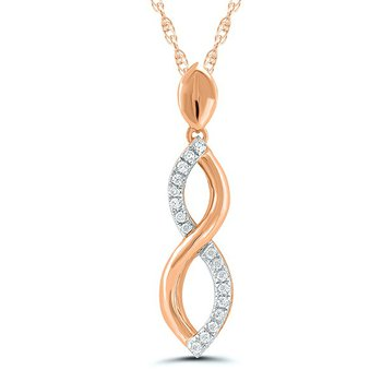 Infinity Twist Pendant