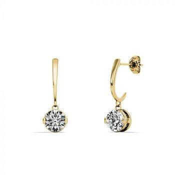 One & Only Dangle Earrings - 3/4CTTW