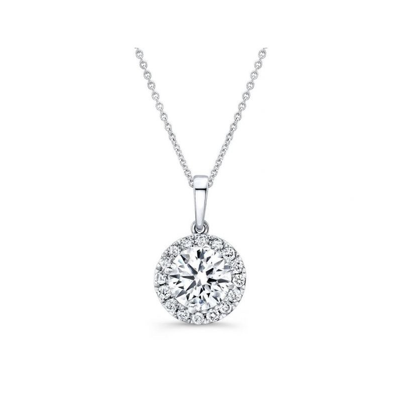 Lasker Diamond Fashion Classic Diamond Halo Pendant