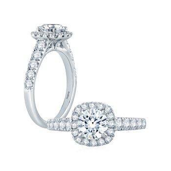 Fire & Ice Sophia Ring - 3/4ct Center Diamond