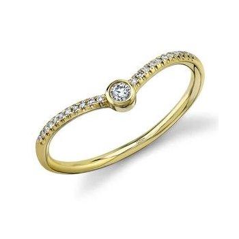 Chevron Fashion Ring