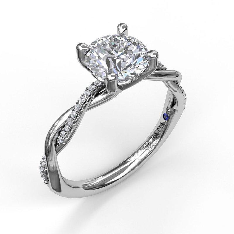 Fana Diamond Twist Ring