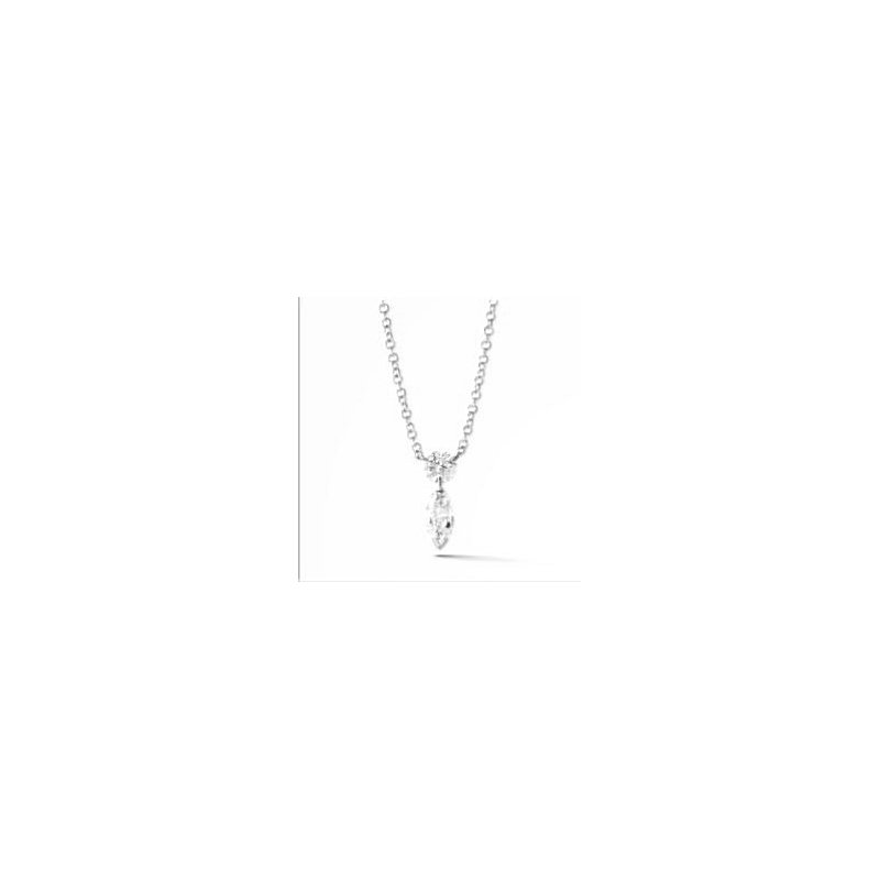 Lasker Diamond Fashion Aero Diamond Duet Pendant - .50cttw