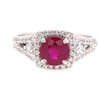 1.14ct Ruby Ring
