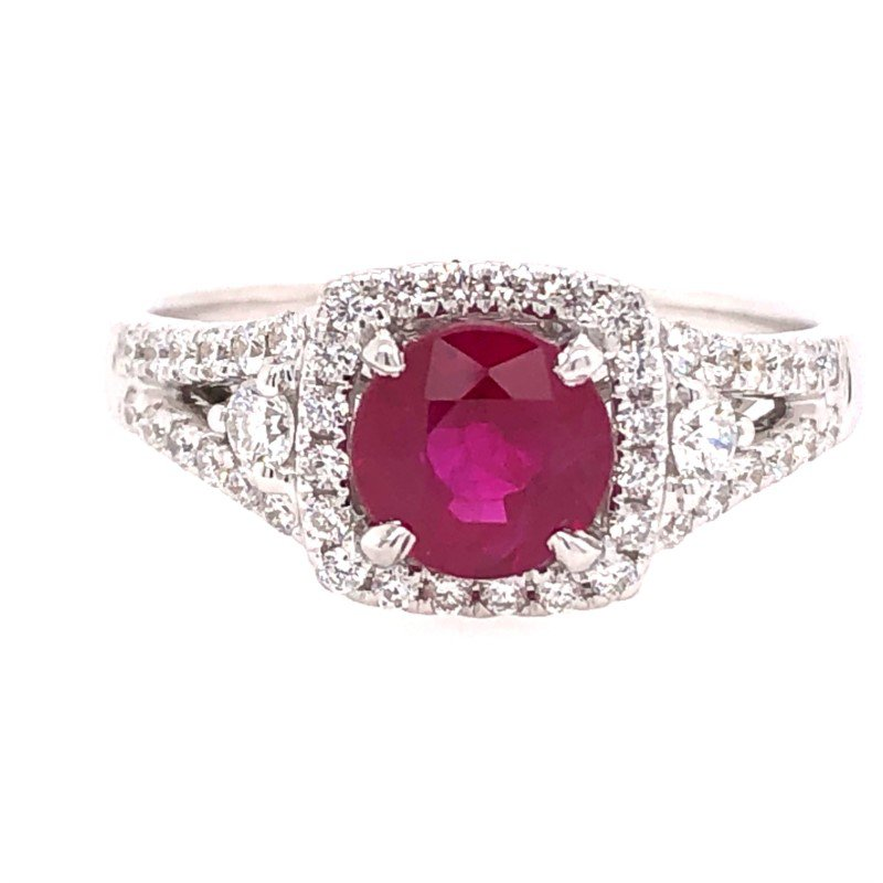Lasker Gemstone 1.14ct Ruby Ring