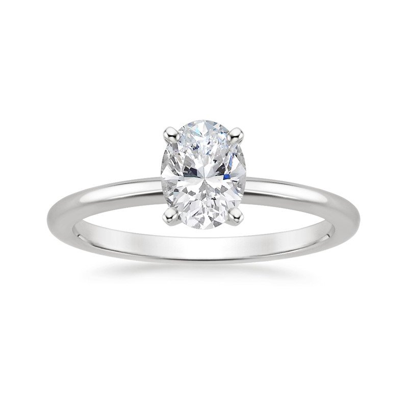 Lasker Bridal One & Only Oval Diamond Ring - 0.52CT