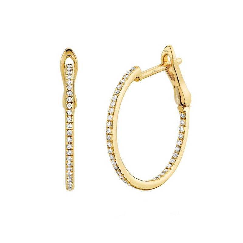 Lasker Diamond Fashion Diamond Hoop Earrings